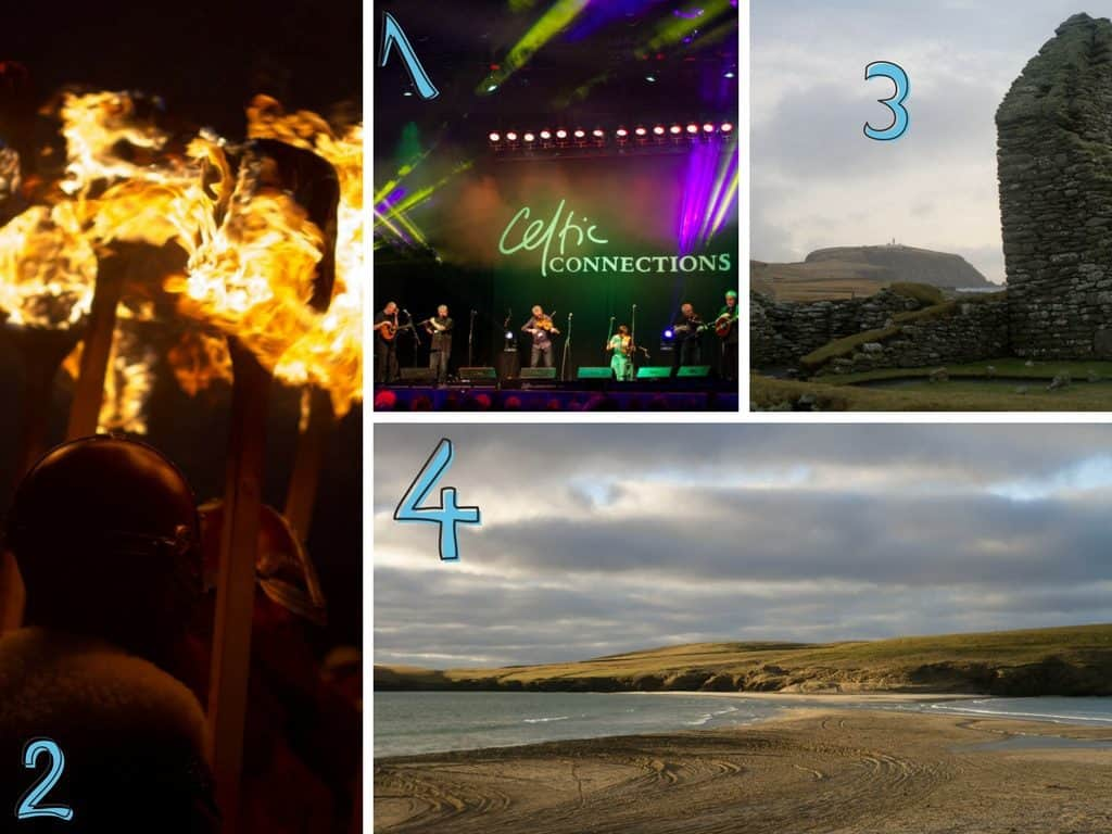 Up Helly Aa, Shetland, Celtic Connections