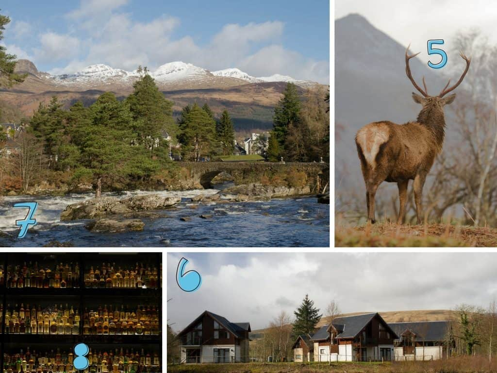 Perthshire, Glen Etive, Cameron House, Whisky Experience